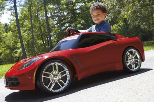 A Mini Corvette Stingray for kids