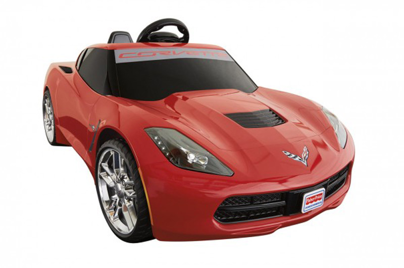 A Mini Corvette Stingray for kids