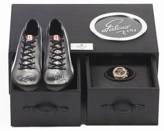 Hublot collaborates with Puma to unveil limited edition watch and shoes