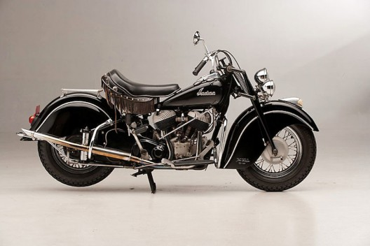 1946 Indian Chief owned by the King of Cool himself, Steve McQueen