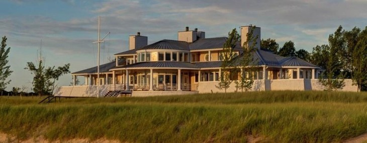 One Of A Kind $40 Million Great Lakes Estate