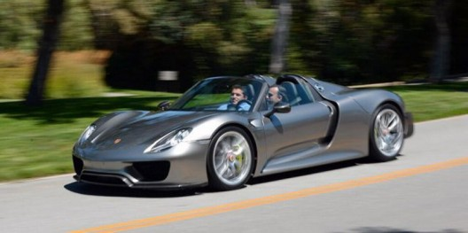 Porsche has released the first photo of the model 918 Spyder in its final, production version
