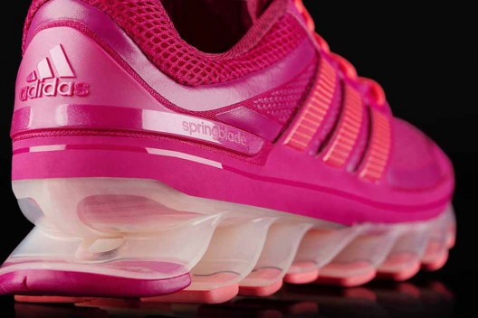 New Adidas Springblade Running Shoes with the In-built Bounce