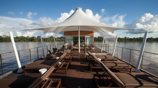 Aqua Amazon lets you cruise the river in pure luxury with 12 suites and an onboard chef