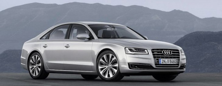 Audi has presented the refreshed S8 for 2014, thus officially engaged in pursuit of the Mercedes