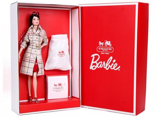 Barbie Coach doll sports the tiniest bag from the designer
