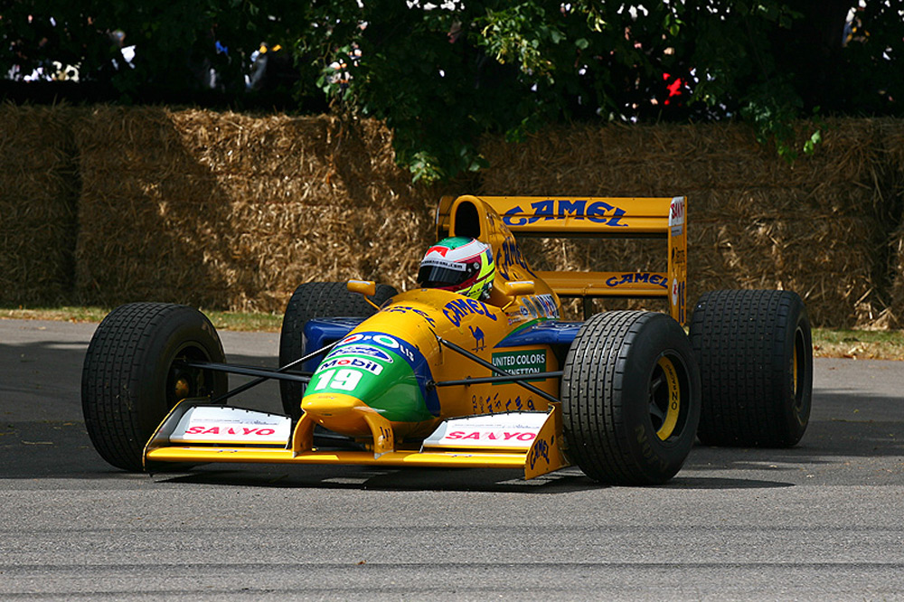On Auction Is Benetton B191 Car In Which Schumacher Won The First