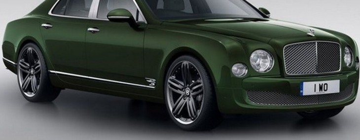 Bentley has unveiled a special edition model of its Continental GT and Mulsanne
