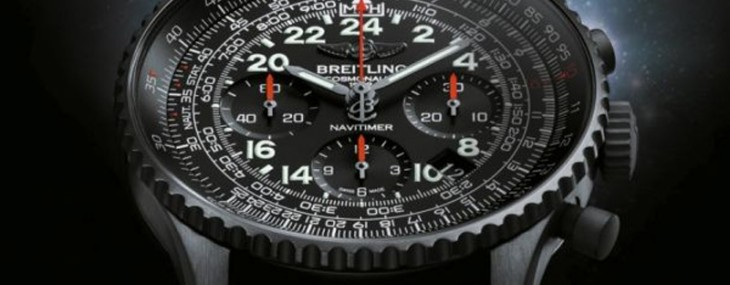 New Breitling Navitimer Cosmonaute Blacksteel Watch