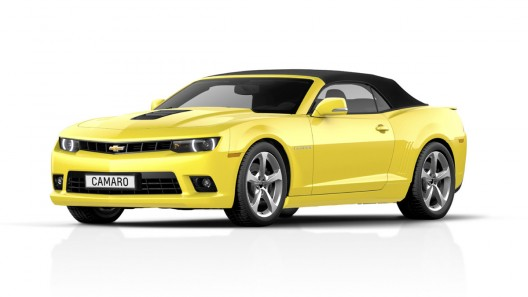 2014 Chevy Camaro Convertible revealed ahead of Frankfurt debut