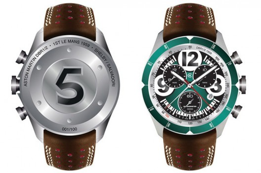 Metal From Aston Martin's Le Mans 1959 Winner In Christopher Ward's Watch