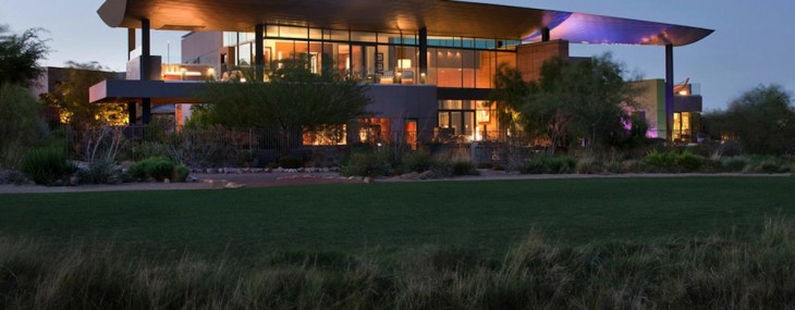 Sable Ridge Ct, Las Vegas, Nevada, United States, this beautiful desert contemporary estate can be yours for $18,700,000