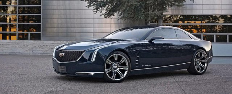 Cadillac has unveiled Elmiraj Coupe Concept, which the manufacturer announced its future flagship
