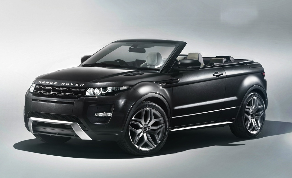 range rover evoque convertible gets the green light extravaganzi. Black Bedroom Furniture Sets. Home Design Ideas