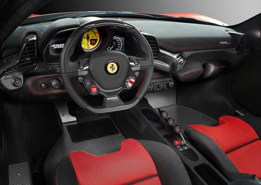 Italian company officially released the first images and details of the new Ferrari 458 Speciale