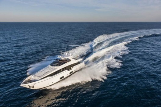 The latest additions to the fleet of the famous Ferretti Group is a fantastic boat, Ferretti 960