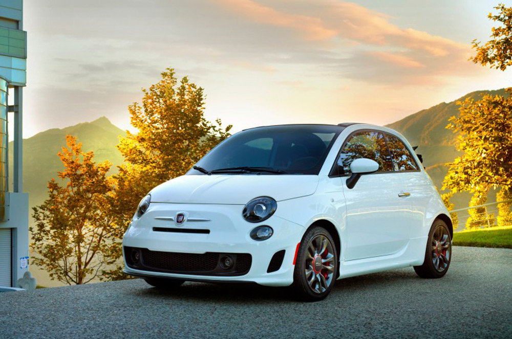Fiat has, in the U.S, presented a model 500C GQ Edition