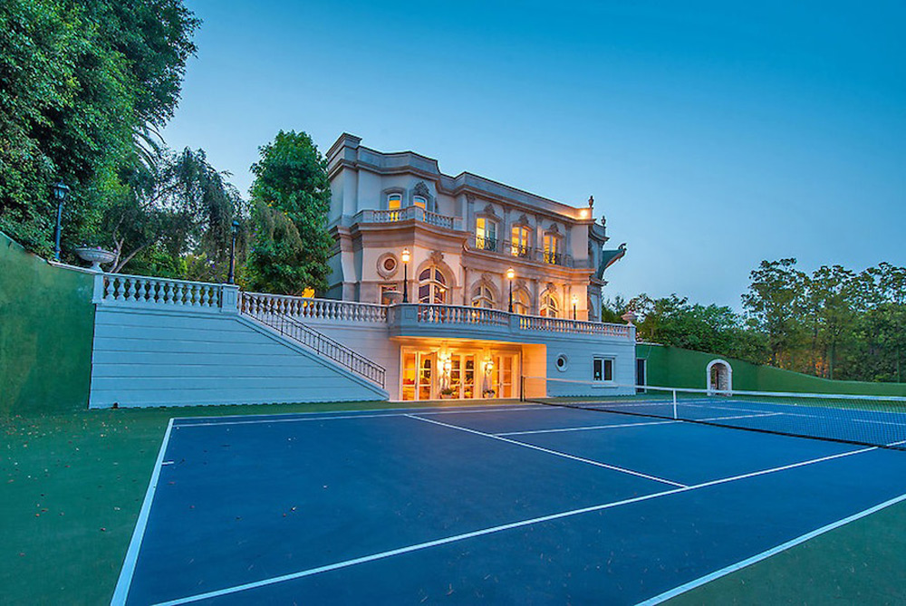 French Baroque Beverly Hills Chateau Extravaganzi