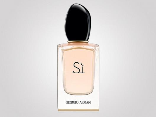 Giorgio Armani Si fragrance is Harrods exclusive
