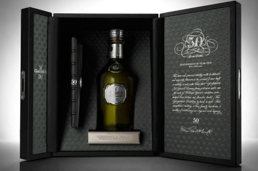 Tast the rare Glenfiddich 50 Year Old whisky exclusively at Bar 1919, Texas