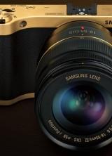 Gold Plated Samsung NX300 Camera