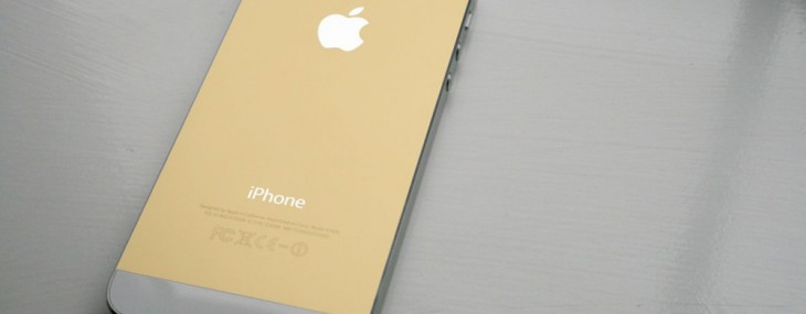 Gold iPhone From Apple