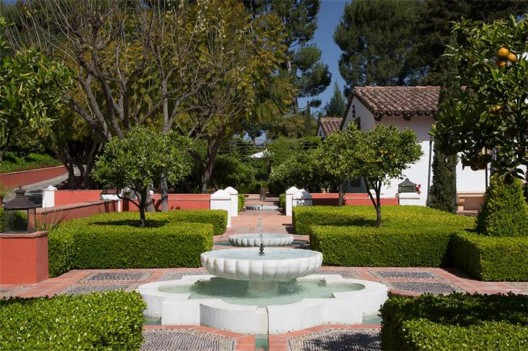 Hacienda de la Paz is located on the Southern California's Palos Verdes Peninsula