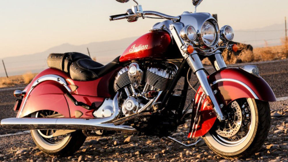 Indian Motorcycle roars back to life