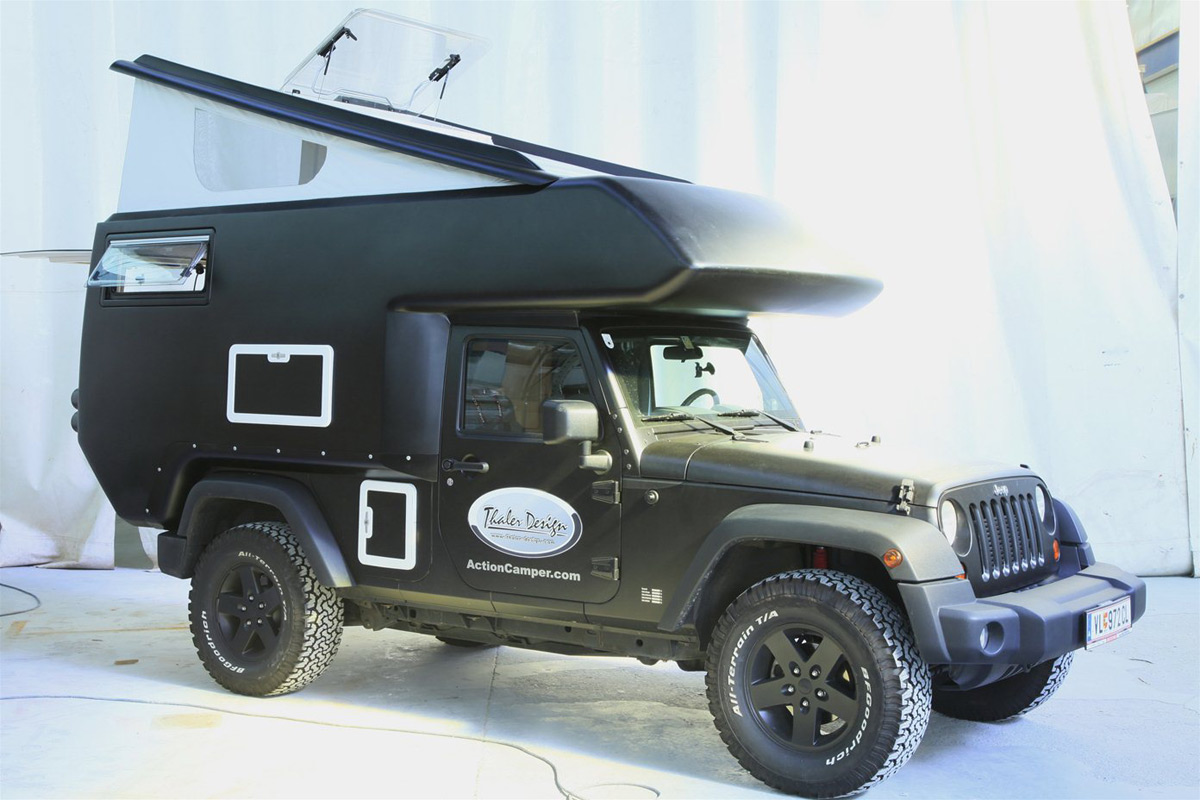 Campers For Sale In Ga >> Jeep Action Camper - eXtravaganzi