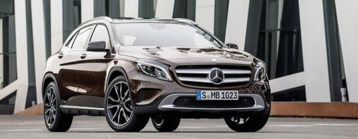 Mercedes GLA Finally Presented