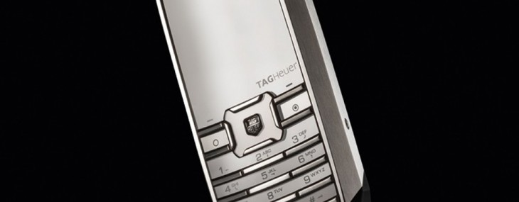 TAG Heuer Released Special Edition Meridiist Sapphire 1860 Mobile Phone