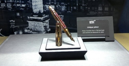 Now they managed to produce Ruby Fountain Pen, which is worth a whopping $1.14 million
