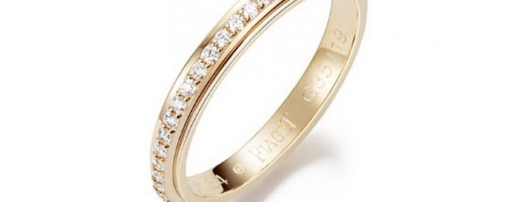 Piaget Bridal collection expresses emotion in a great way with all the charms of love couple