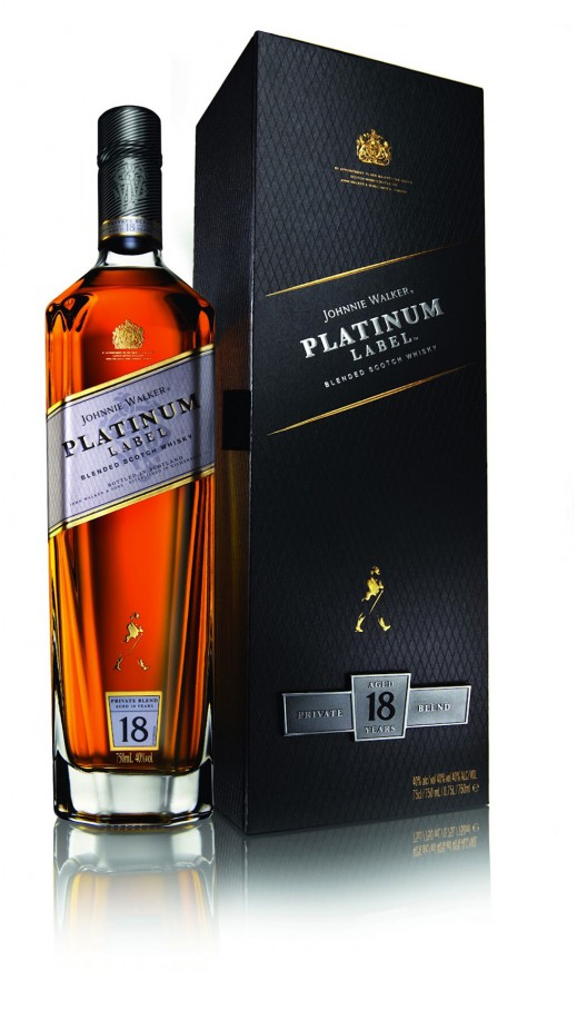 Johnnie Walker Platinum Label is whiskey for the holders of the elite