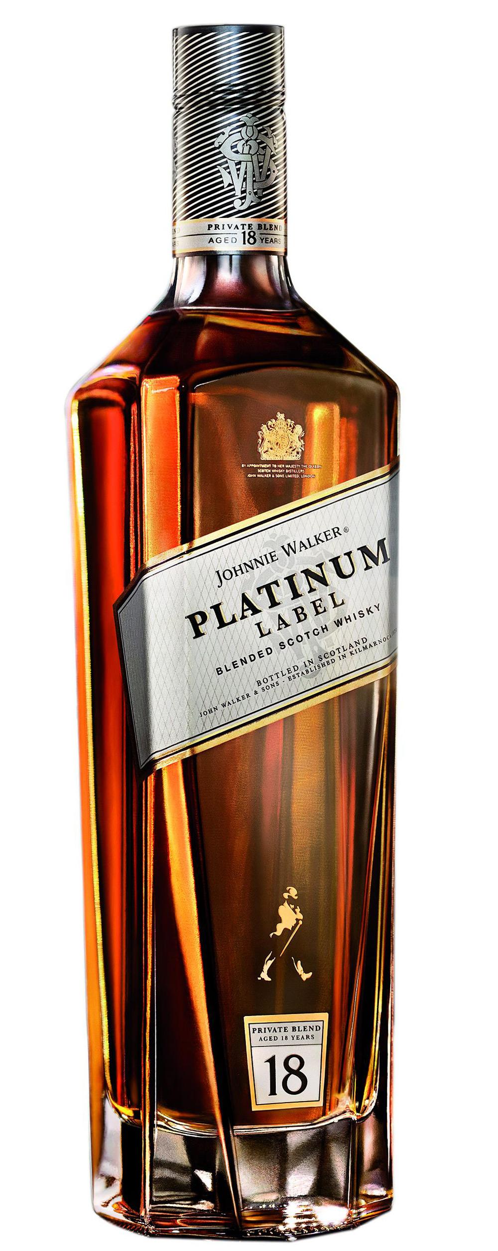 New Johnnie Walker Platinum Label Extravaganzi
