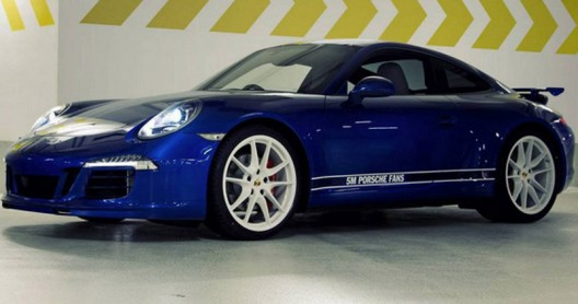 Porsche 911 Carrera 4S specifications made by Facebook fans