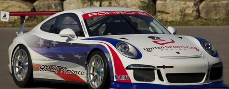 new 2014 911 GT America designed for participating in the United Sports Car Racing, USCR, Daytona GT class