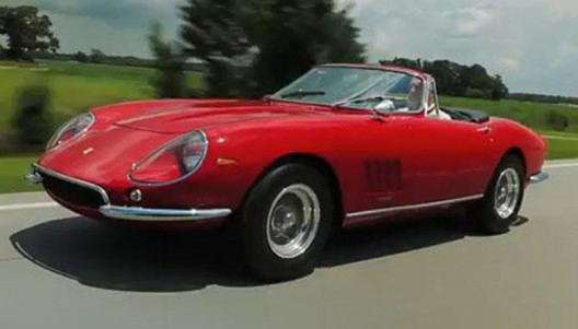 ultra rare and ultra desirable 1967 Ferrari 275 GTB/4*S N.A.R.T. Spider