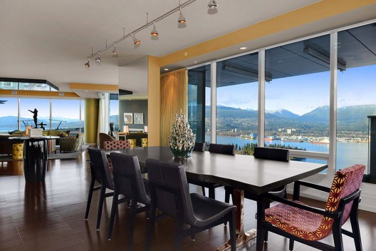 Luxury Penthouse in Vancouver With Stunning Panoramic Views Worth $21,000,000