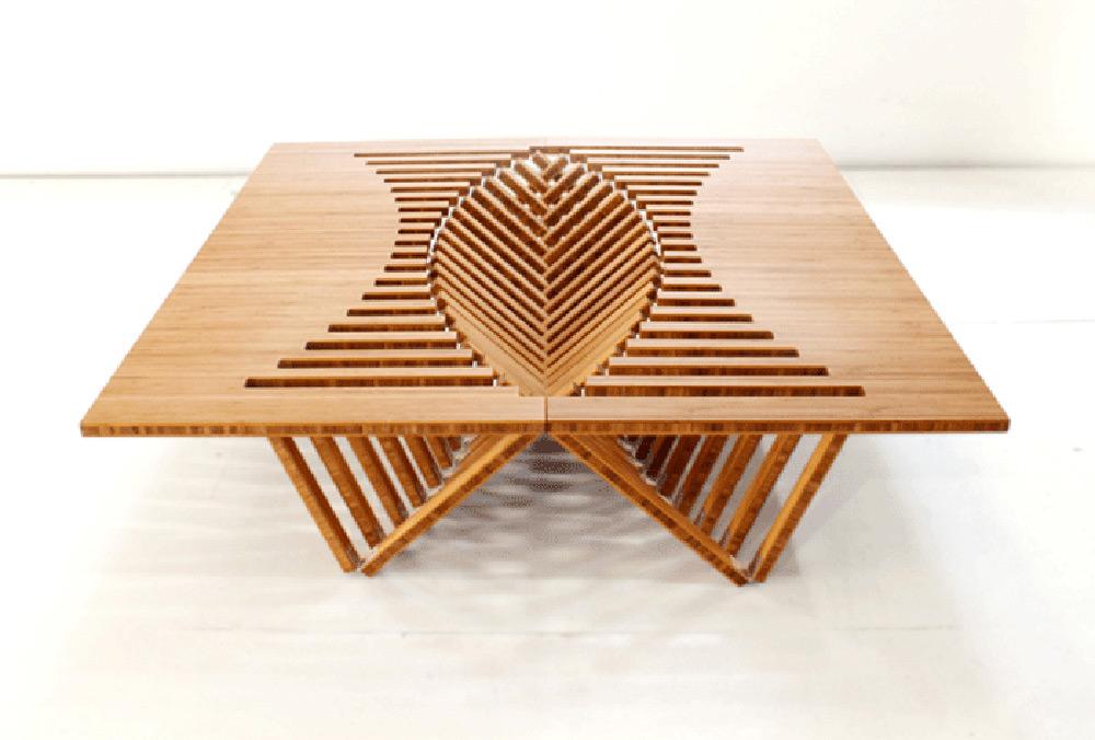 rising furniture by robert van embricqs extravaganzi