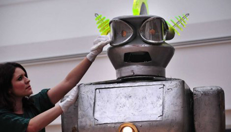 large robot from the 1950s at next month's auction in London
