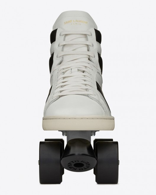 Saint Laurent sneaker style skates roll for $1,150
