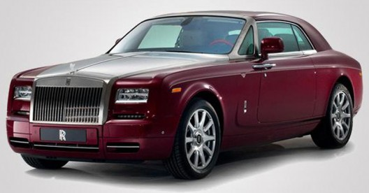 One of One-Rolls Royce Ruby Phantom Coupe