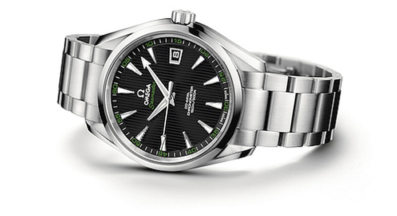 "Rory Mcllroy signed Omega Seamaster Aqua Terra 150M ""Golf"" timepiece to be auctioned for charity"