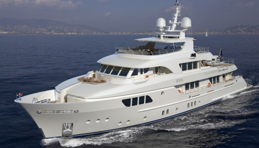 Moonen Launches Sofia: Their Largest Yacht To Date
