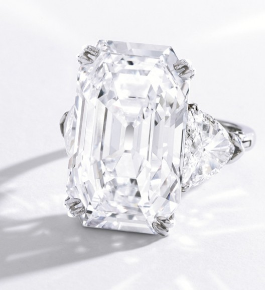 Sotheby's New York Jewels Auction Of Important Diamonds