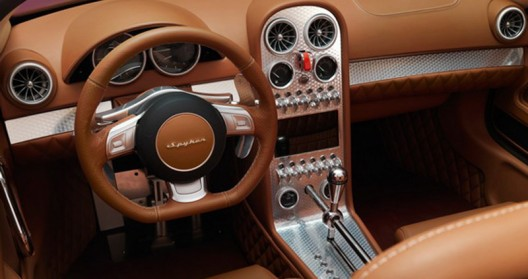 Spyker prepares Spyder version of this car