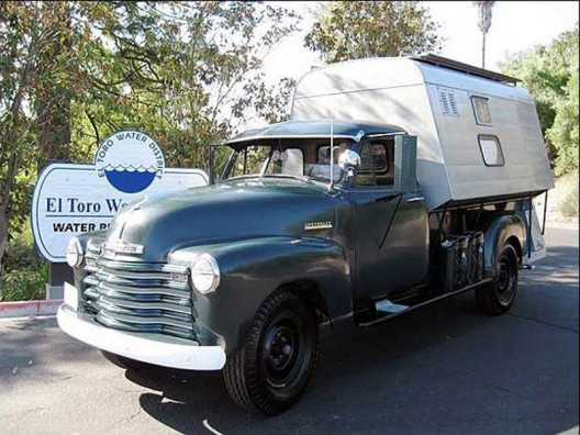 Own It: Go Camping in Steve McQueen's 1952 Chevy 3800 Pickup