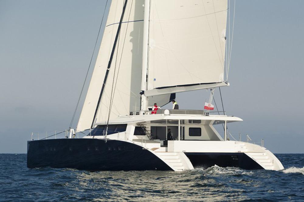 Sunreef Launches the First Carbon-Fiber Catamaran