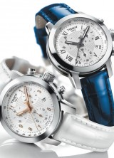 Tissot is its collection of watches complement with the new PRC 200 chronograph model for the ladies